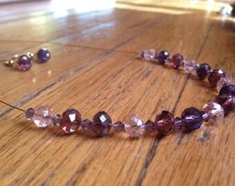 Glass Violet Set