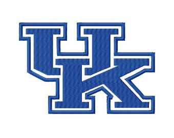 UK Solid Fill 3 Embroidery Design 3x3 4x4 5x5 University Kentucky INSTANT DOWNLOAD