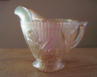 Iris and Herringbone Creamer - Item #1353