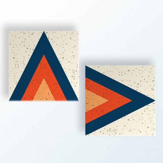 ARROWHEAD Pair (2) canvas wall art