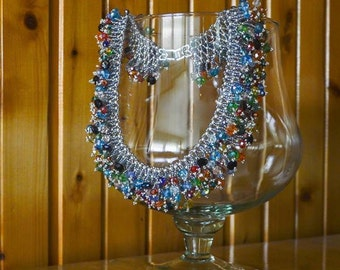 Firework necklace