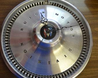 1970 - 1972 Buick Hubcap Wall Clock