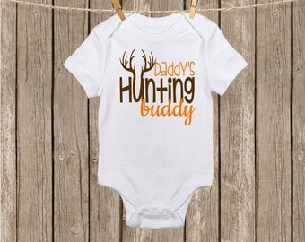Daddy's Hunting Buddy Onesie or T-Shirt