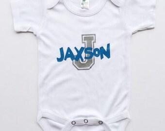 Personalized Onesie Bodysuit Baby Shower Gift Newborn Boy Baby Onesie Personalized Bodysuit Newborn Baby Girl Onesie Personalized Bodysuit