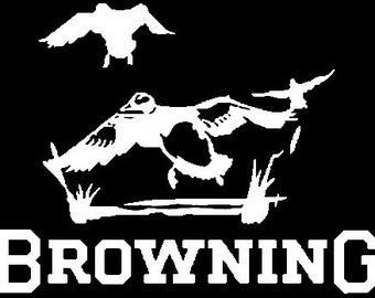 Browning Ducks Vinyl Sticker