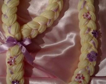 My Princess Rupenzel Braid - Lavender, Tangled inspired