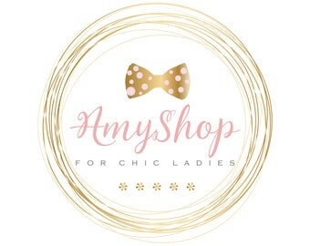 Custom logo design, Original girlish gold pink Logo design, Professional Business Logo, graphic design,chic logo,cute logo,feminine logo