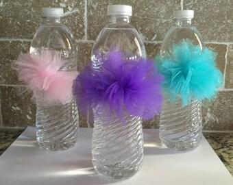 Water Bottle Poms, (10 in a set)