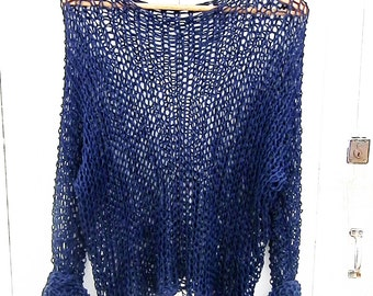 Cotton Handknit Sweater3 x 2 = 1 Free