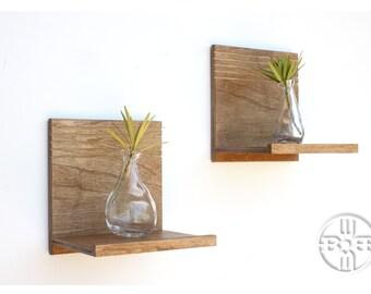 Floating Shelves (Pair), Floating Wall Shelf, Wood Shelf, Wooden Shelf, Wood Wall Shelf, Wood Shelves, Bedroom Decor, Modern Shelves, Modern
