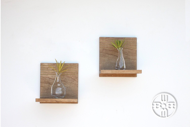 Floating shelves modern decorative shelf wood shelf open for Fancy wood bookshelves