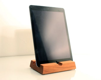 Dual Angle Wooden iPad/Kindle/Tablet Stand