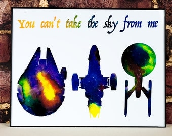 Star Trek, Star Wars, Firefly Mashup: You Can't Take the Sky from Me
