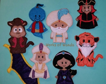 Genie and Friends Finger Puppet Set