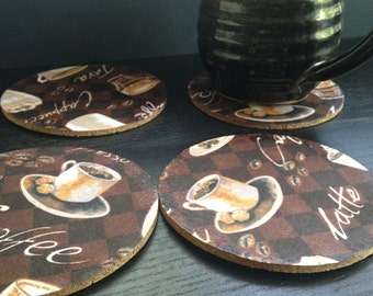 Coffee Lover Coasters (Set of 4)
