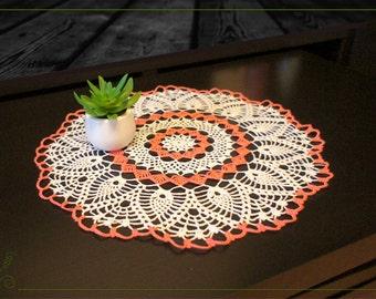 Color Crochet Doily