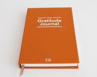 Gratitude Journal - Personalised Notebook - Unique Gift Idea for Bestfriend