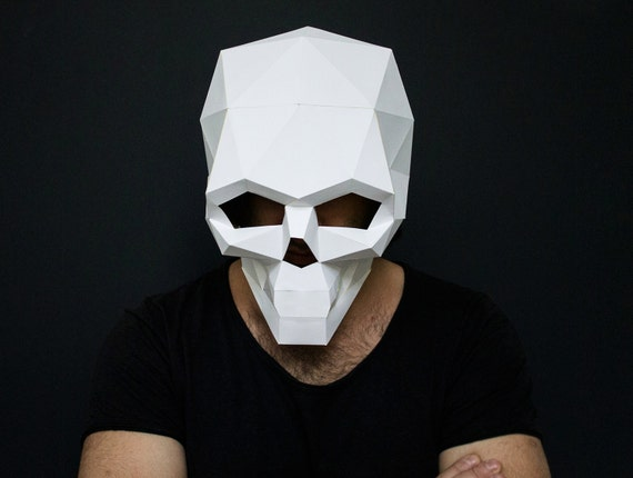 HD wallpapers full face mask 3d template