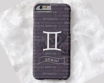 GEMINI Cell Phone Case, ZODIAC iPhone 6 case, Note 4 cell case, iPhone 6 plus cell case, iPhone 6 plus case, Galaxy Samsung S6 #510