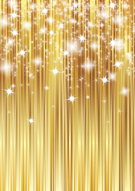 gold sparkle backdrop curtain twinkle christmas printed