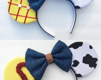 Jessie and Woody Inspired Mouse Ears