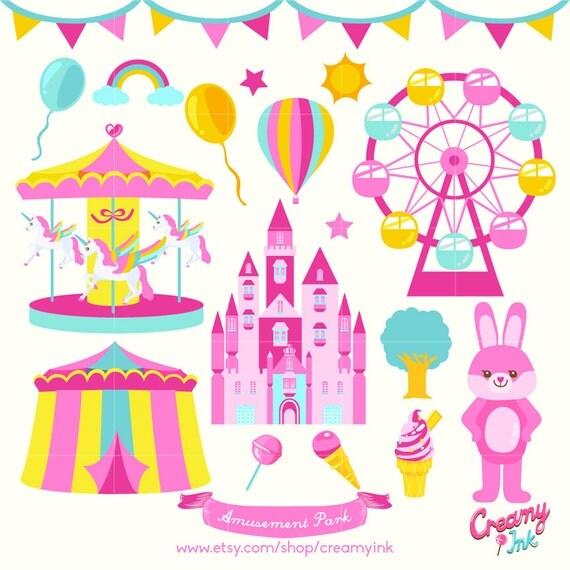 Amusement Park Food Clipart