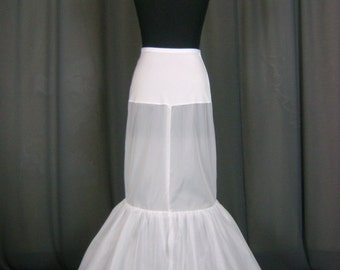 Quality Fish Tail Petticoat/under skirt/slips/hoop skirt/crinoline PTCT021 Petticoats SALE