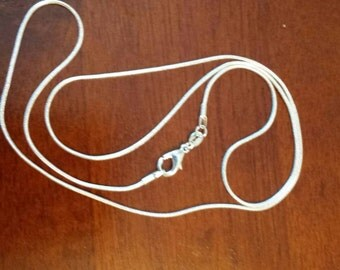 Silver Plated Snake Chain