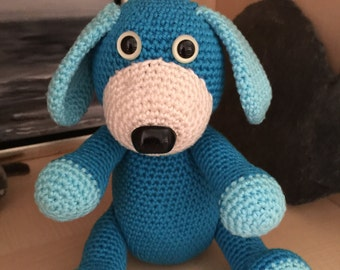 crochet pattern dog teddy karl