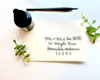 Wedding Invitations / Envelope Addressing / Pippy Design