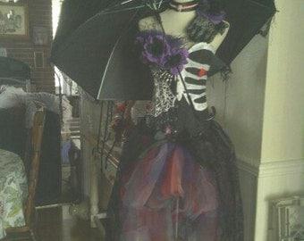 Dia de Los Muertos Sugar skull inspired Custom made costume