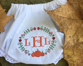 Personalized Fall Bloomers