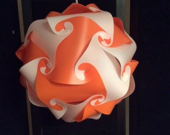 Tennessee Vols Orange & White IQ Puzzle Lamp