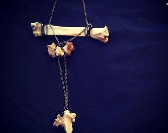 Sheep bone necklace