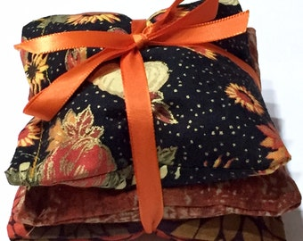Fall  Seasonal Lavender Sachet Pillows