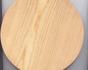 Wooden Basket Bottom Pine 7 inch round