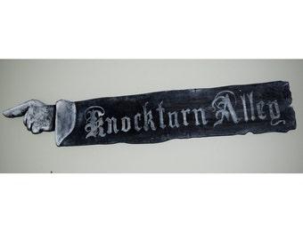 Knockturn Alley Sign
