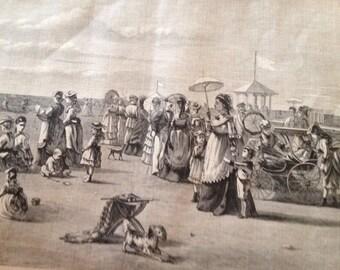 Beach at Atlantic City 1873