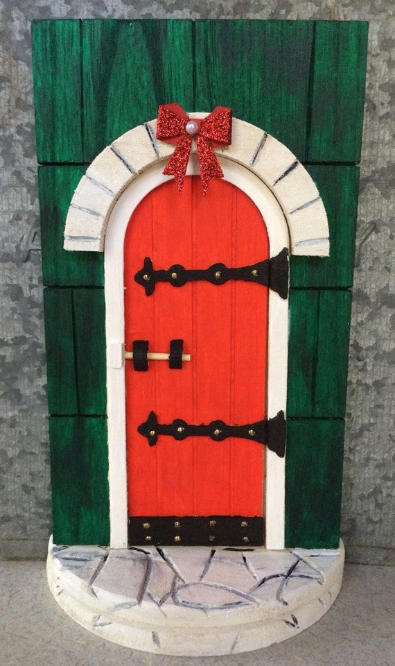 Items similar to magic elf sized door to the santa 39 s for The magic elf door