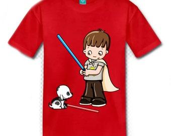 jedi boy t-shirt