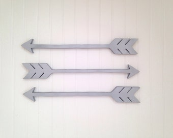 Wooden Arrow, Arrow wall art, Arrow walldécor,  Arrow home decor, Wooden arrows, Wooden arrow wall décor, Dorm decor, (set of 3)