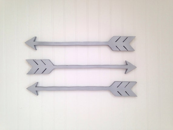 Wall Decor Wooden Arrows : Wooden arrows arrow wall decor by