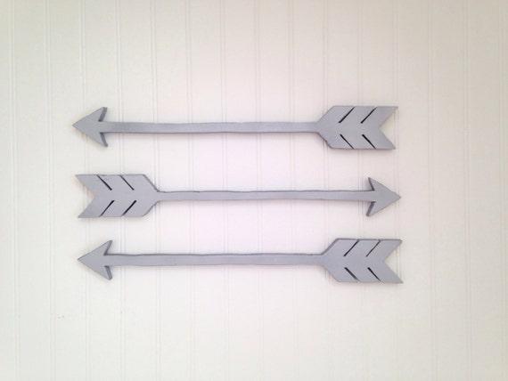 Arrows For Wall Decor : Wooden arrows arrow wall decor by