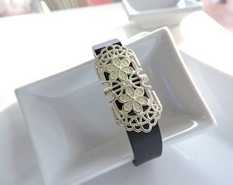 Fitbit Bracelet Jewelry ~ Fitbit Flex bracelet Jewelry Slide-on Accessory - Cute Vintage Cover Very stylish
