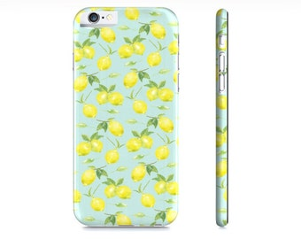 iPhone 6 Case - iPhone 5 Case - Samsung Galaxy S5 Case - Lemons iPhone Case - Lemons Phone Case