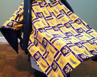 Baby carrier cover for that LSU fan!