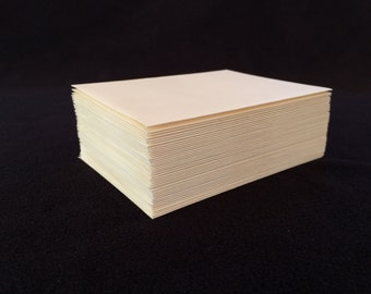A2 Ivory Linen Envelopes
