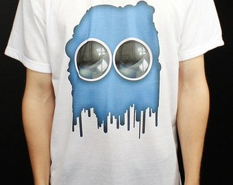 Blue Blob - T-Shirt by ThreadLeagues