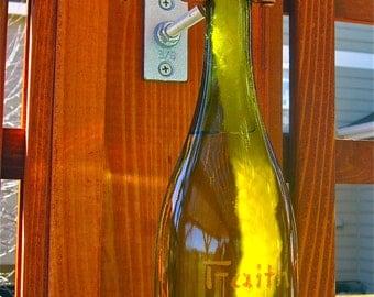 Wine Bottle Oil Lantern