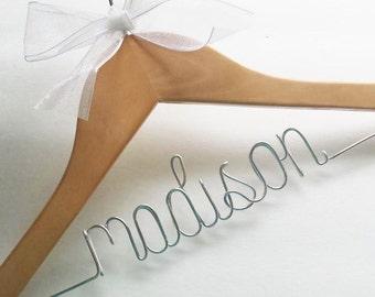 ON SALE / Custom hanger / Wedding hanger / Personalized hangers / Bridal hanger / Wedding dress hanger / Wire hangers / Bridal party